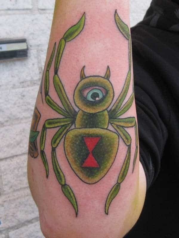 1c90e5b8268de 123 Best Spider Tattoos Meanings (Ultimate Guide, June 2019)