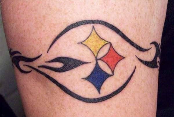 steelers-armband-tattoo