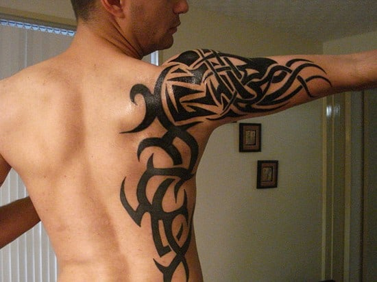 Mens Mehndi Tattoo : Most stylish shoulder tattoos for men women may part