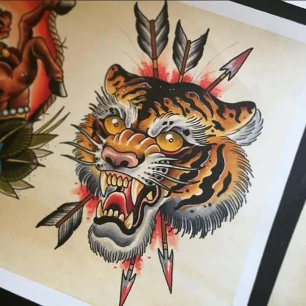 150 Meaningful Tiger Tattoos An Ultimate Guide September 2018