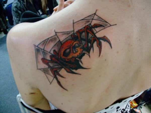 warrior-spider-tattoo