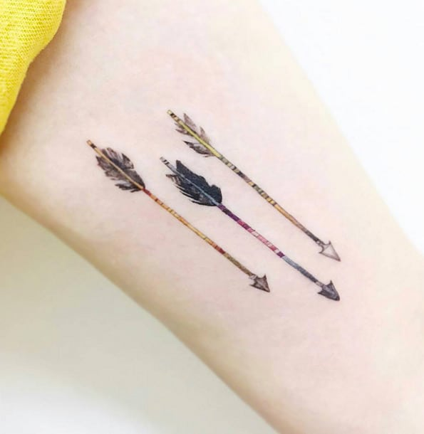 Arrow Tattoo by Banul