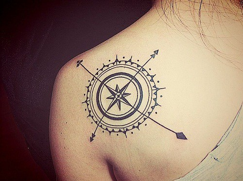 160 Meaningful Compass Tattoos Ultimate Guide February 2019