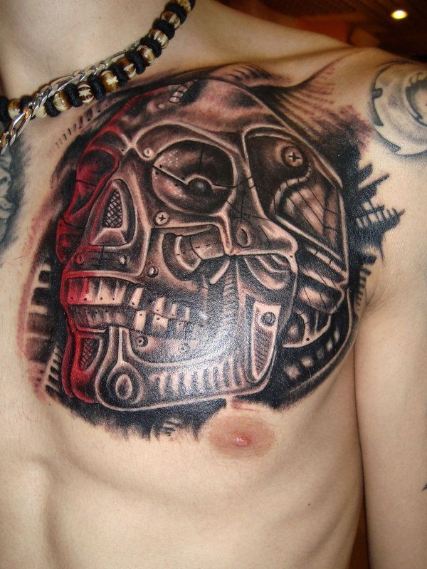 Images Of Biomechanical Tattoos: 150 Creative Biomechanical Tattoos (Ultimate Guide, June 2020