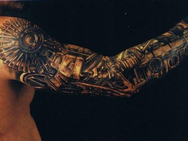 biomechanical tattoo