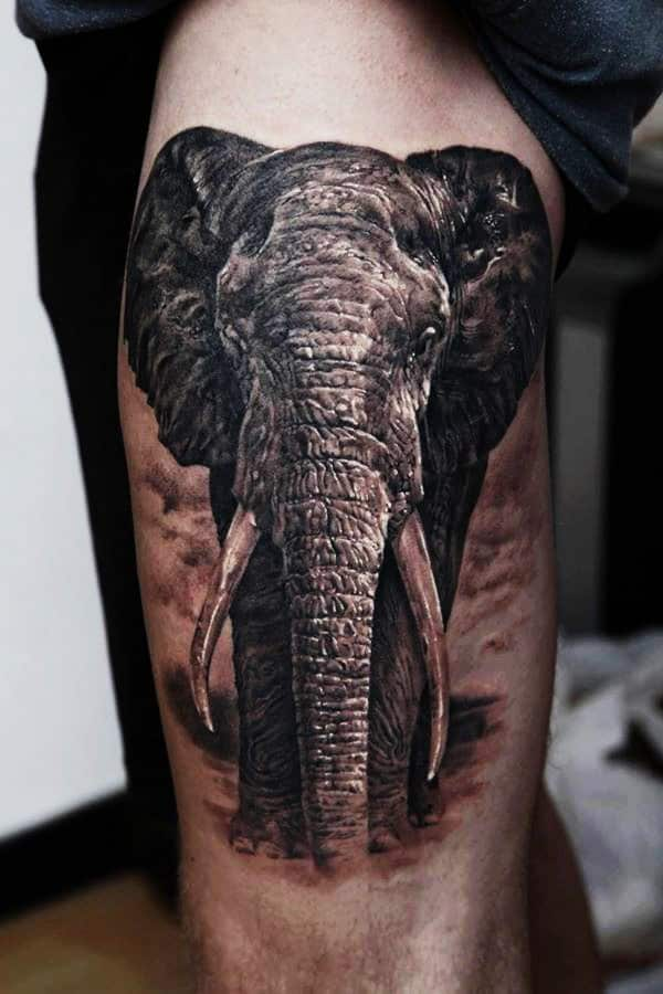 Creative Elephant Tattoos