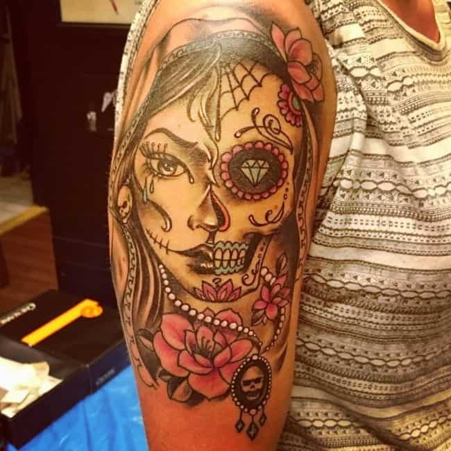 60 day of the dead tattoos you will want to get asap - HD 1080×1080