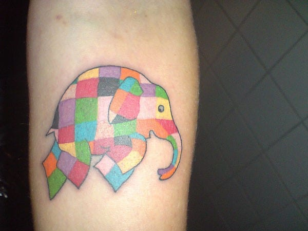 Elephant Tattoo Images