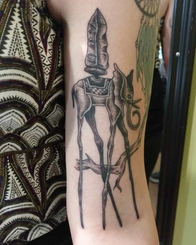 elephant tattoo12