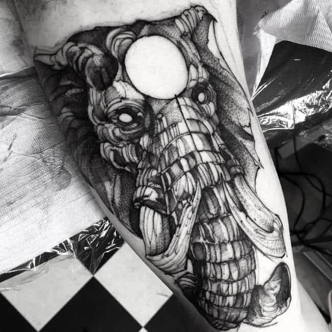 elephant tattoo15