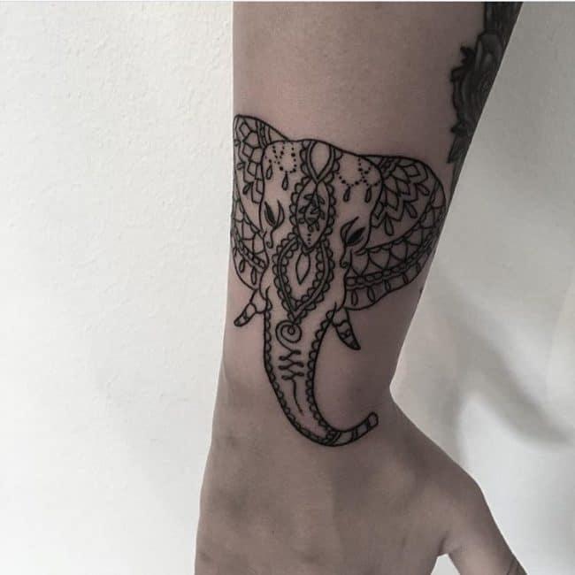elephant tattoo2