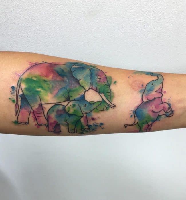 elephant tattoo21