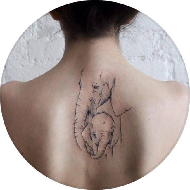 elephant tattoo32