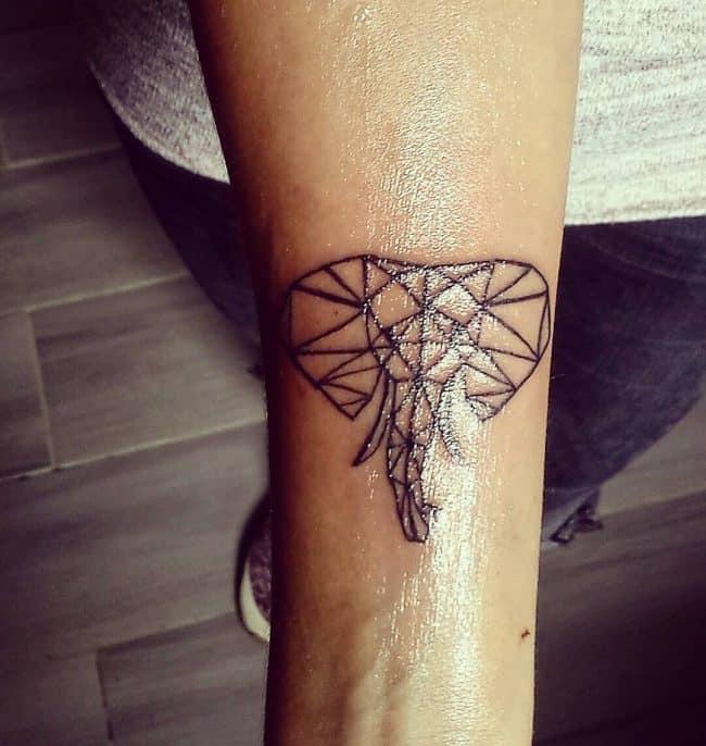 elephant tattoo35