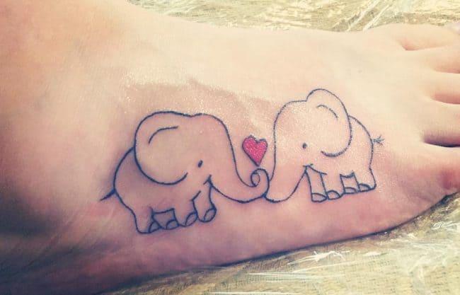 elephant tattoo36