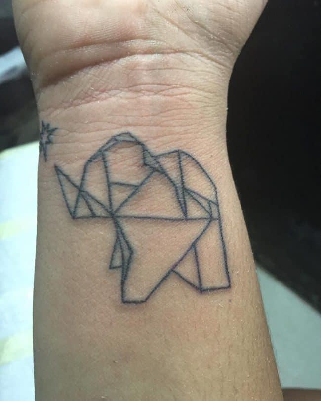 elephant tattoo38
