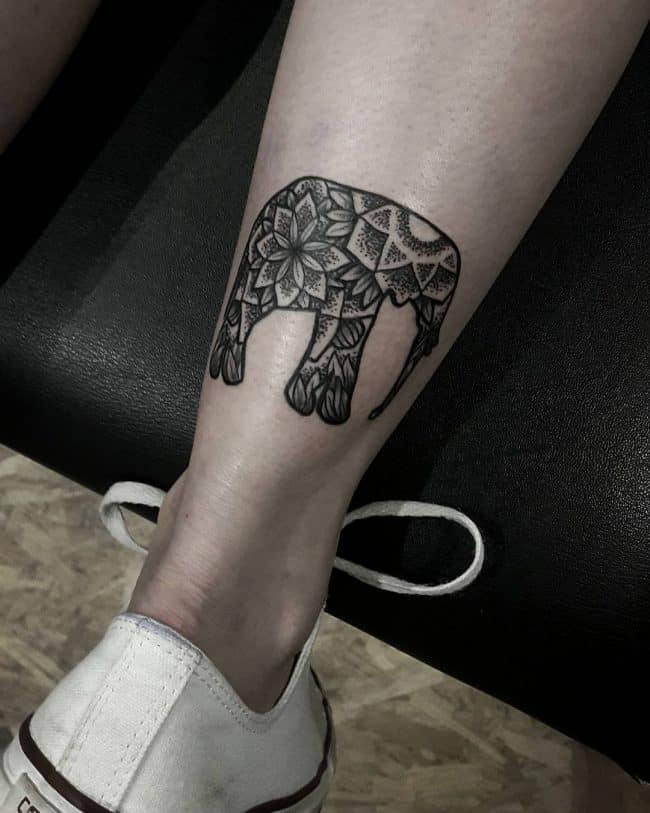elephant tattoo4