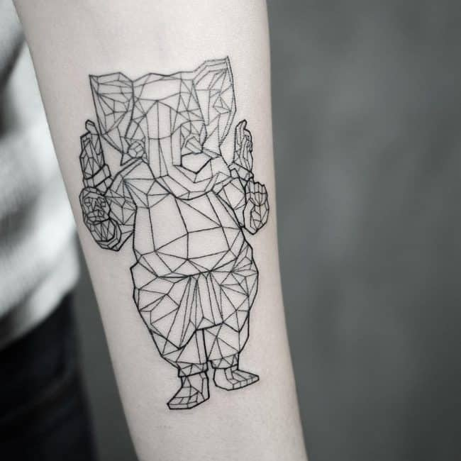 elephant tattoo44