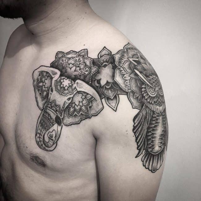 elephant tattoo5