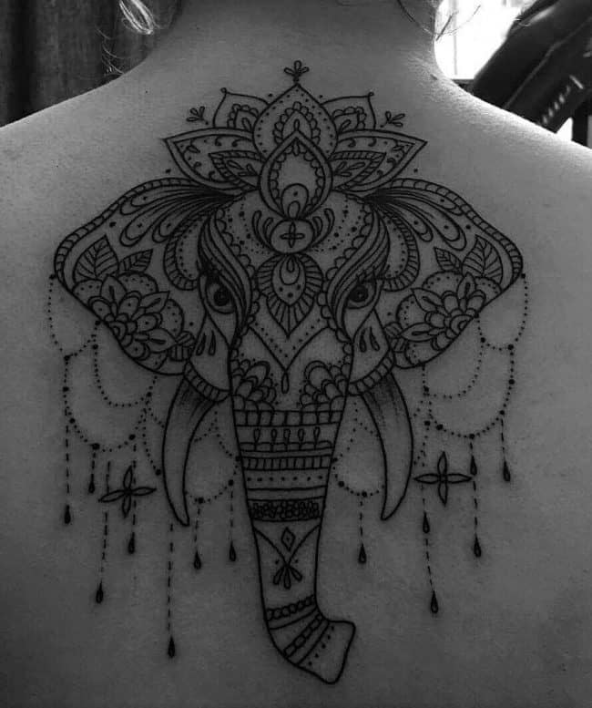 Henna Elephant Tattoo: 200 Meaningful Elephant Tattoos (An Ultimate Guide, May 2020