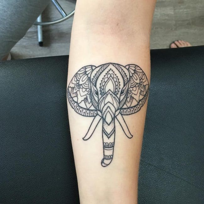 elephant tattoo59