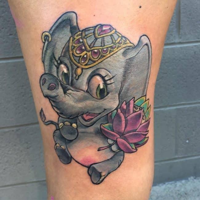 elephant tattoo67