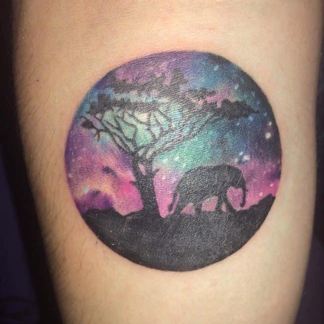 elephant tattoo74