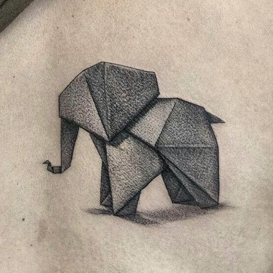 elephant tattoo78