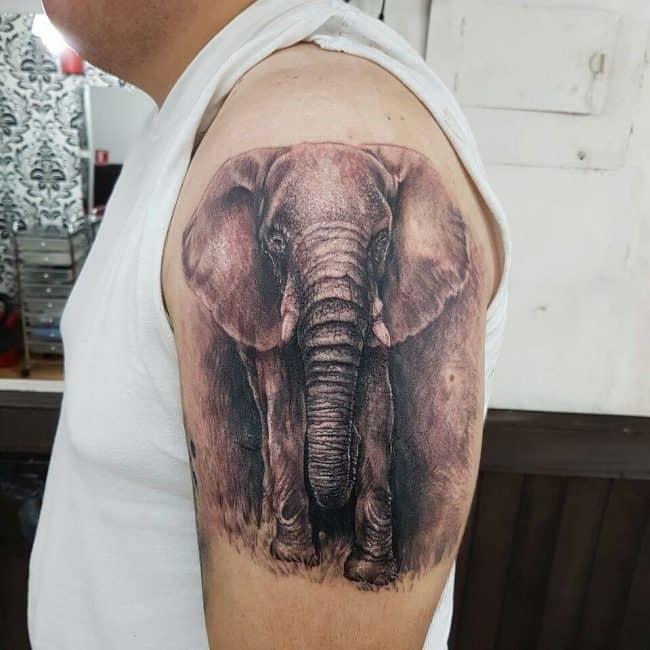 elephant tattoo79