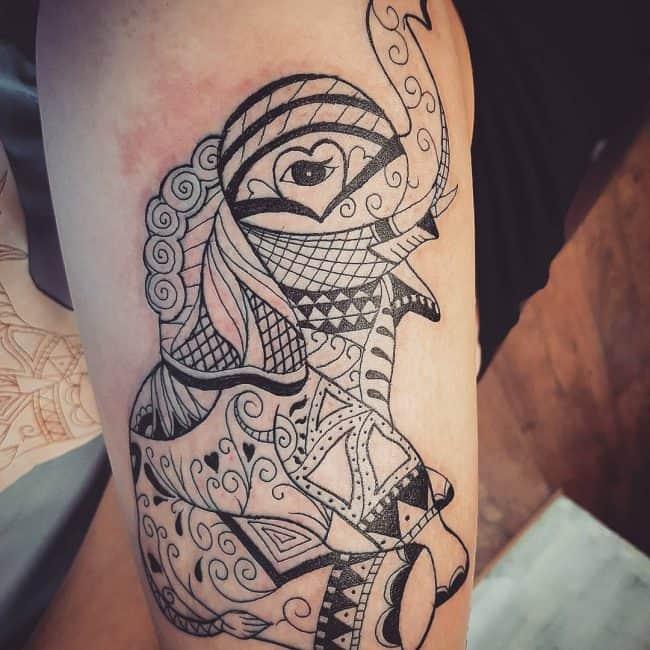 elephant tattoo87