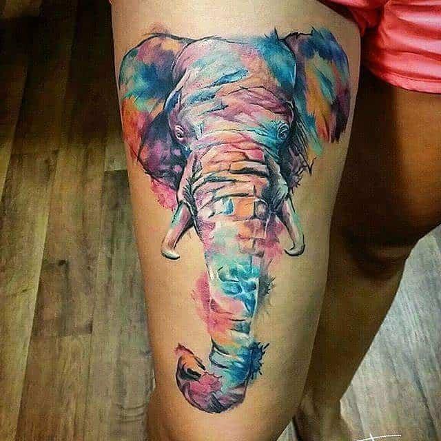 elephant tattoo88