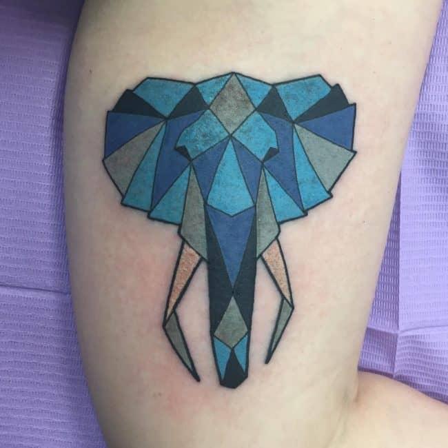 elephant tattoo89