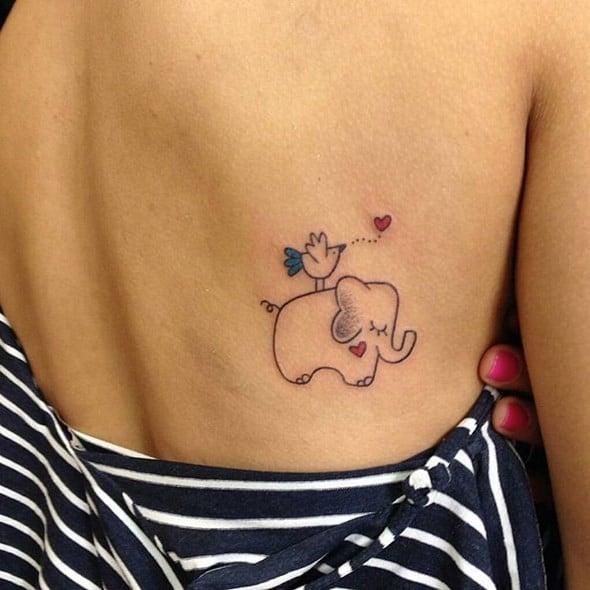 Elephant Tribal Tattoos