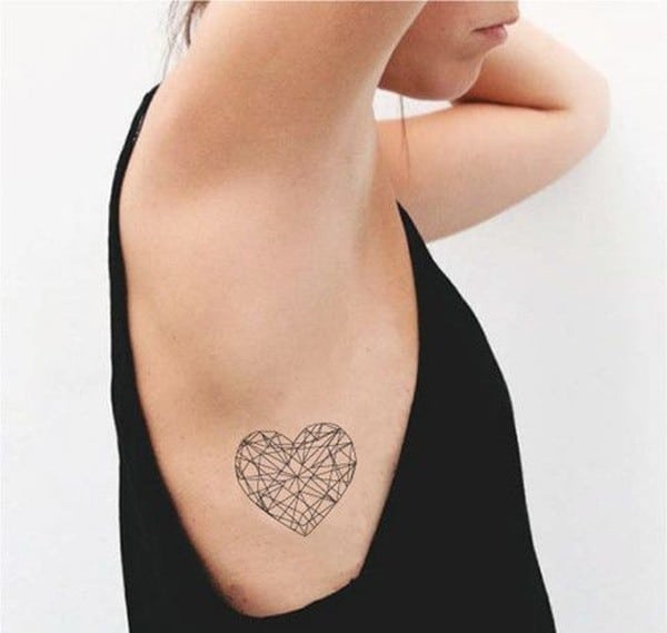 100 lovely heart tattoos and meanings april 2018. Black Bedroom Furniture Sets. Home Design Ideas