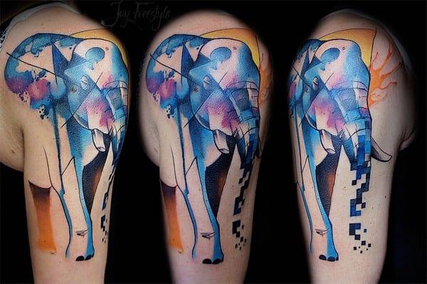 Genuine Elephant Tattoo