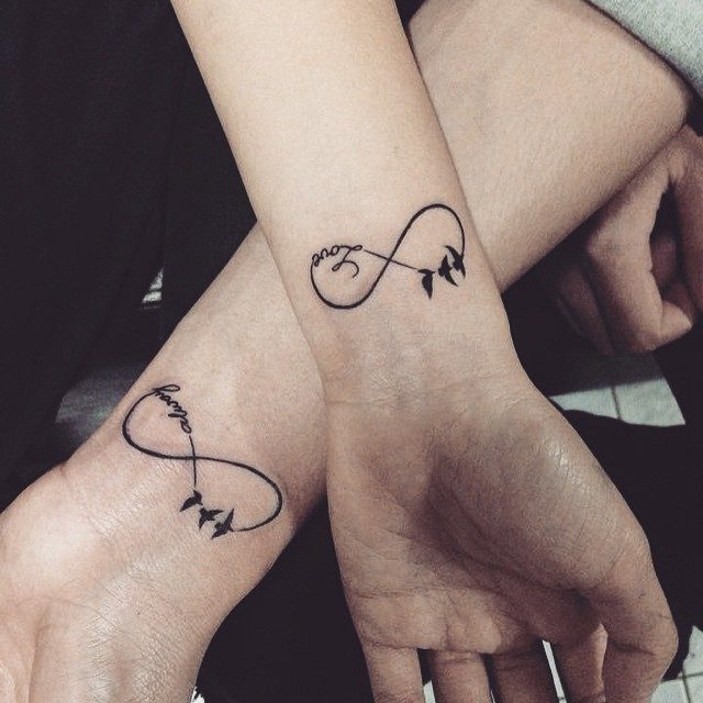 4322c6527 150 Meaningful Infinity Tattoos (Ultimate Guide, July 2019)