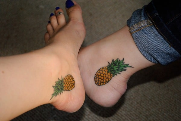 Matching Sister Tattoos Designs