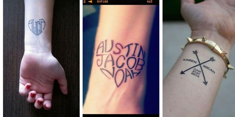 130 Amazing Name Tattoos Designs And Ideas [2017 Collection]