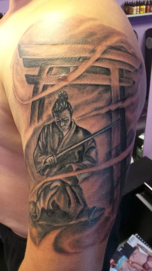 Samurai Tattoo for Men