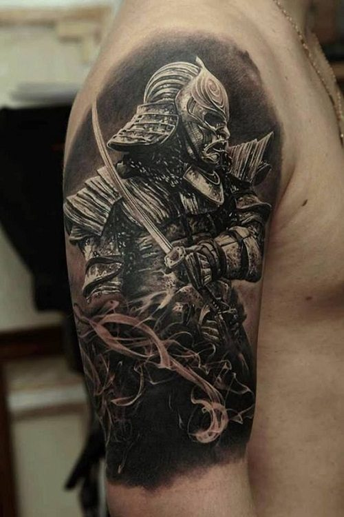 90d569120 150 Samurai Tattoos Meanings (Ultimate Guide, July 2019)