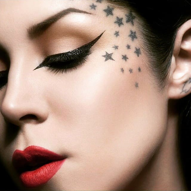 Flower Tattoo Kat Von D: 150 Meaningful Star Tattoos (An Ultimate Guide, July 2019
