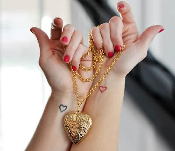 Star Tattoos Girls