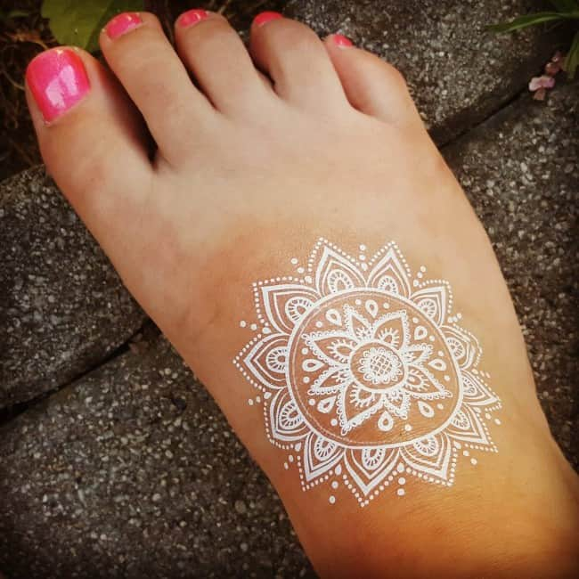 White I N K Tattoos: 150 White Ink Tattoos Ideas (Ultimate Guide, June 2020
