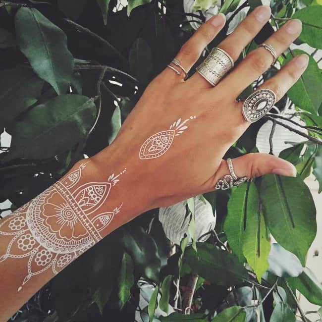 150 White Ink Tattoos Ideas Ultimate Guide January 2019