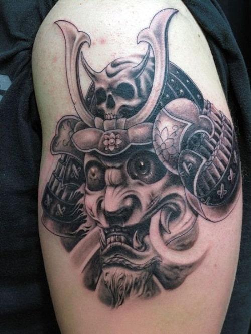Zen and Samurai Tattoo