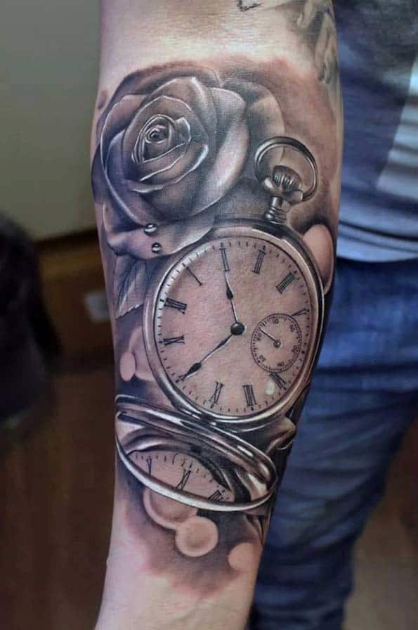 200 Popular Pocket Watch Tattoo And Meanings March 2018