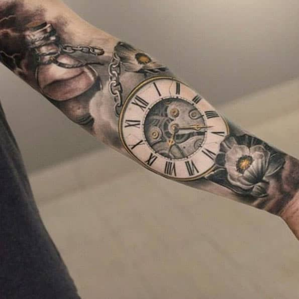 Gorgeous Pocket Watch Sleeve