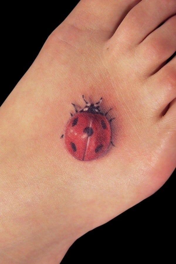 3D Bug Tattoo