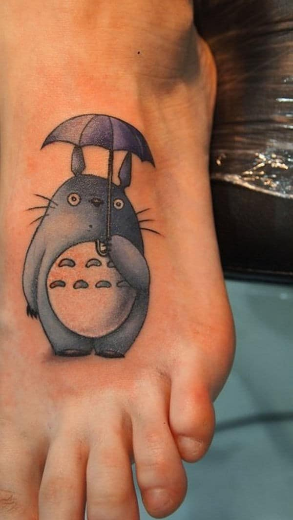 3D Cartoon Tattoo