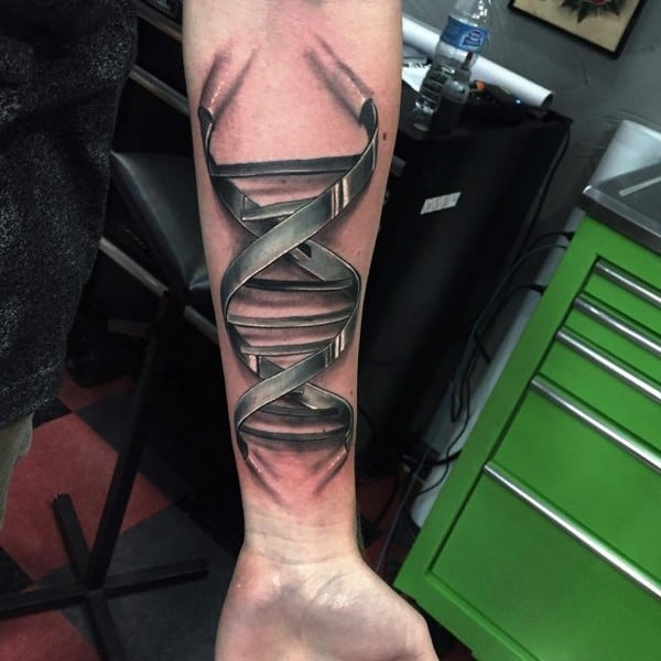 3D Forearm Tattoo
